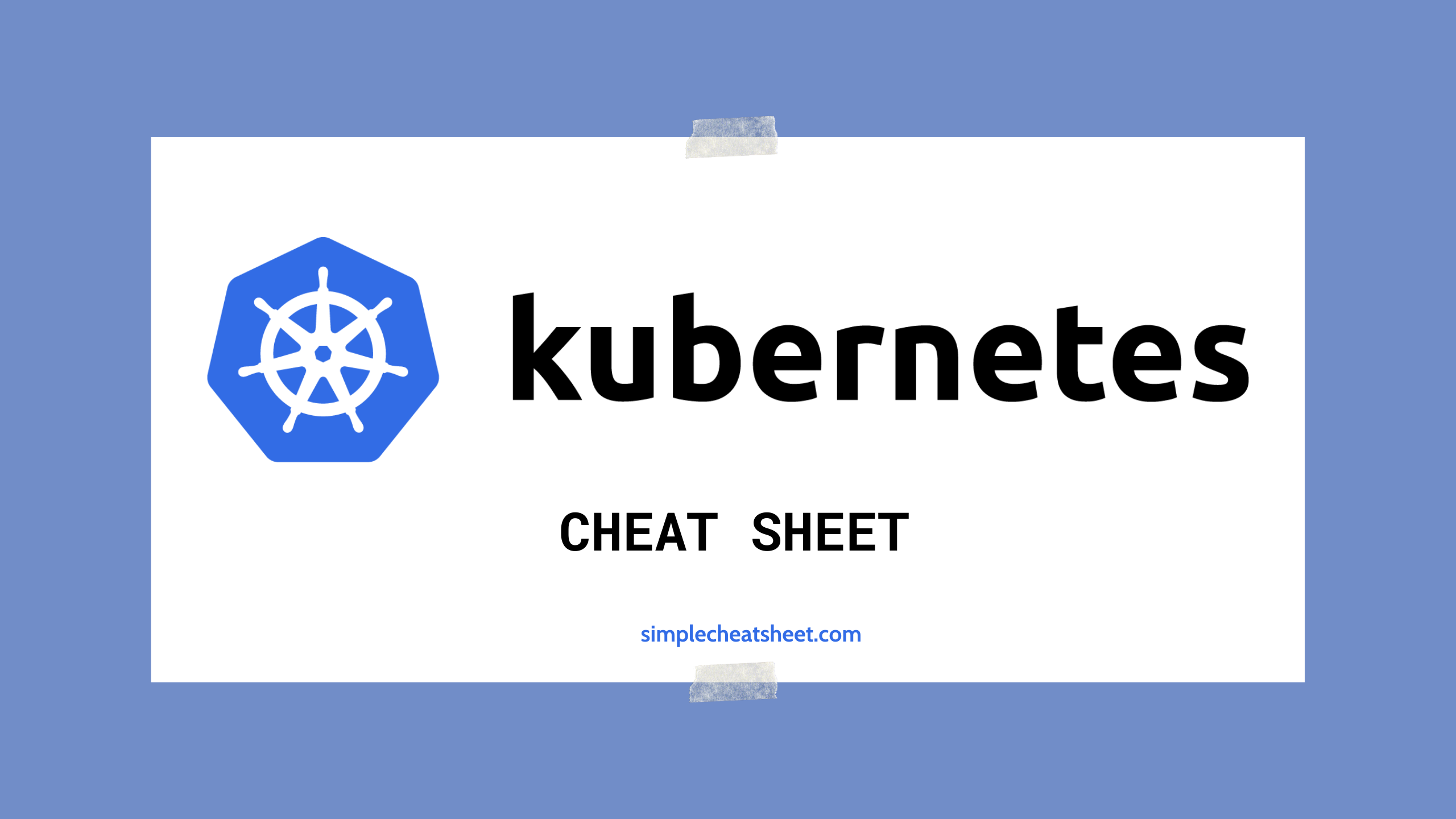 Kubernetes Cheat Sheet