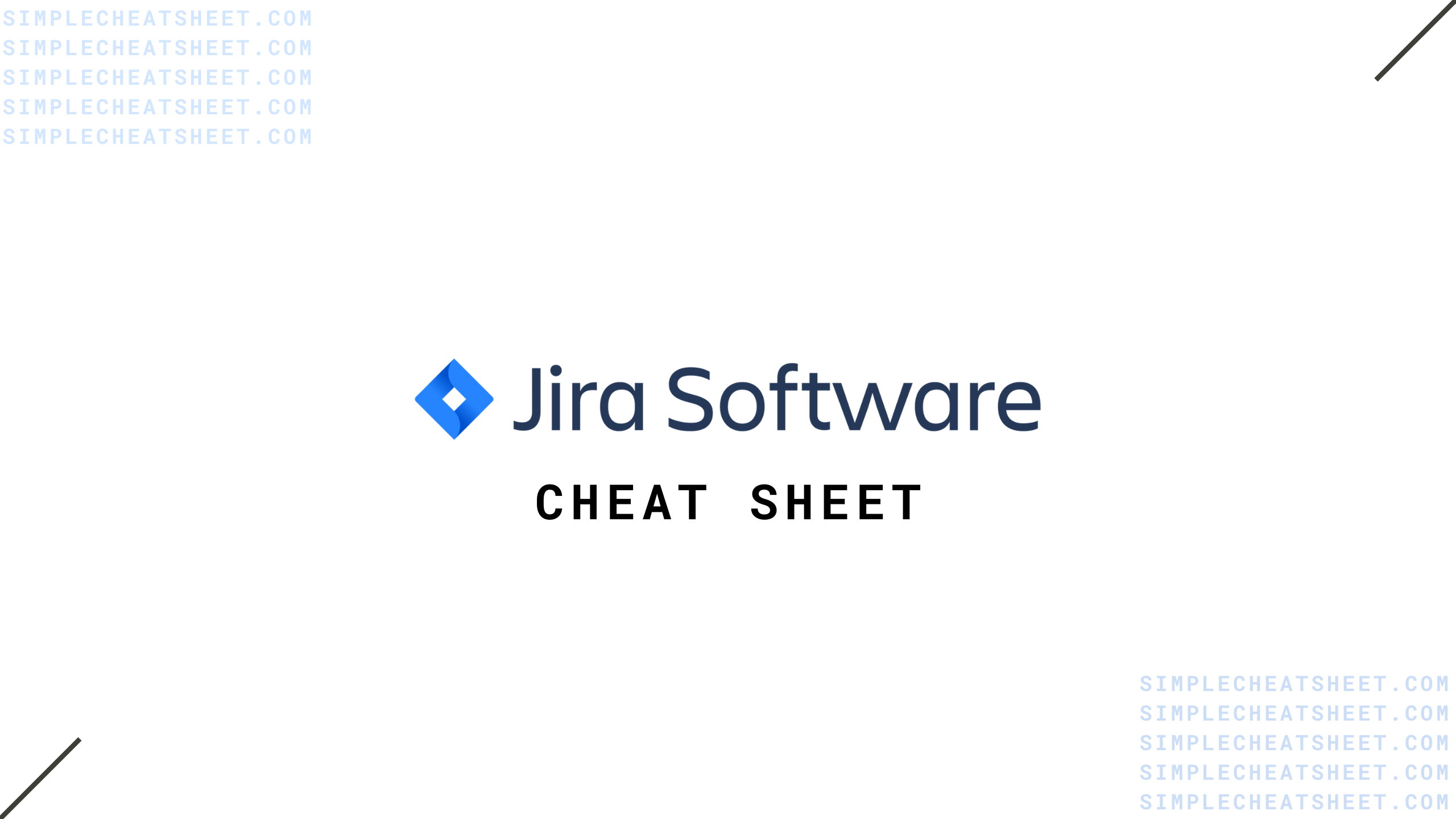 Jira Cheat Sheet