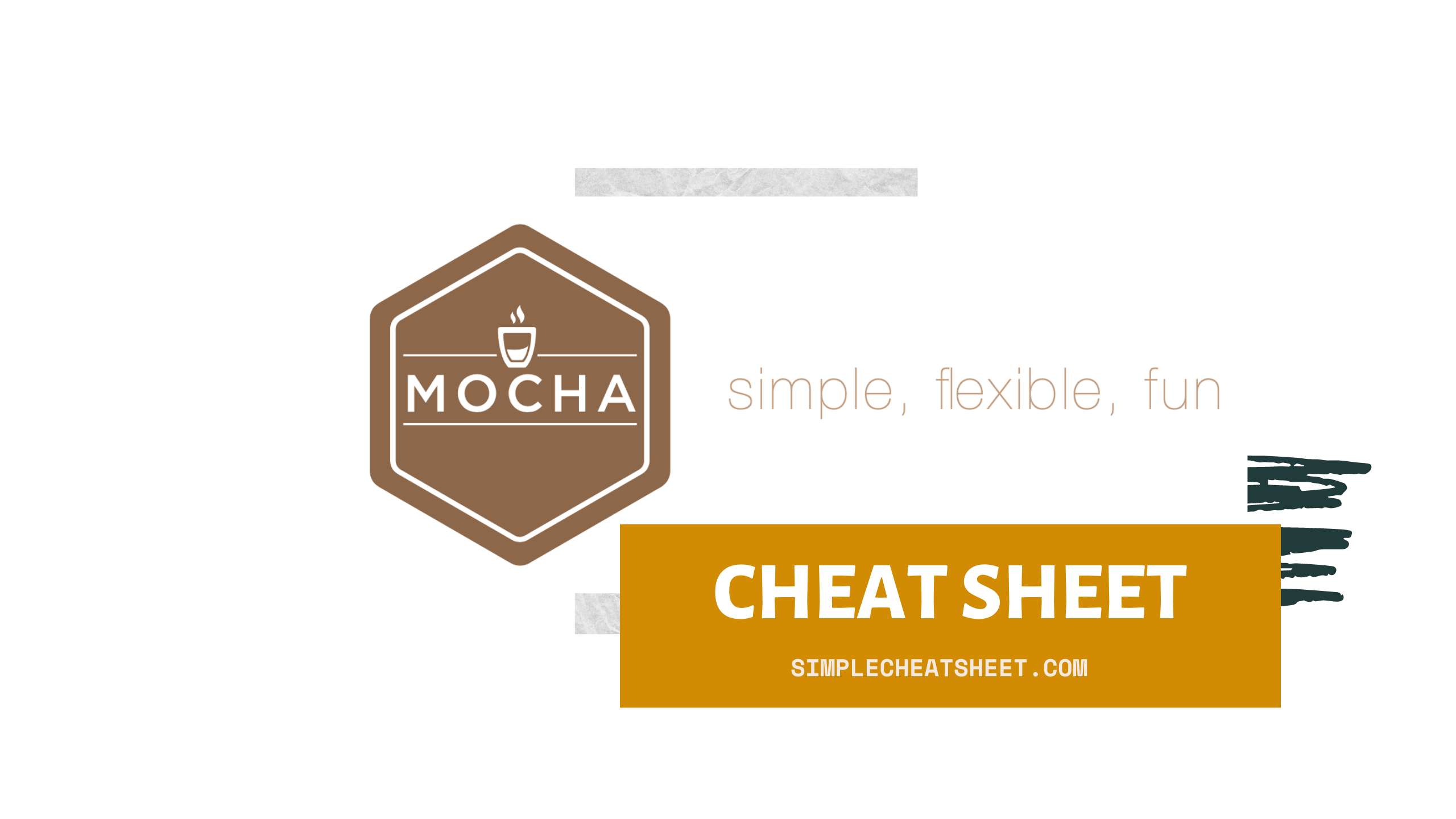 Mocha cheat sheet