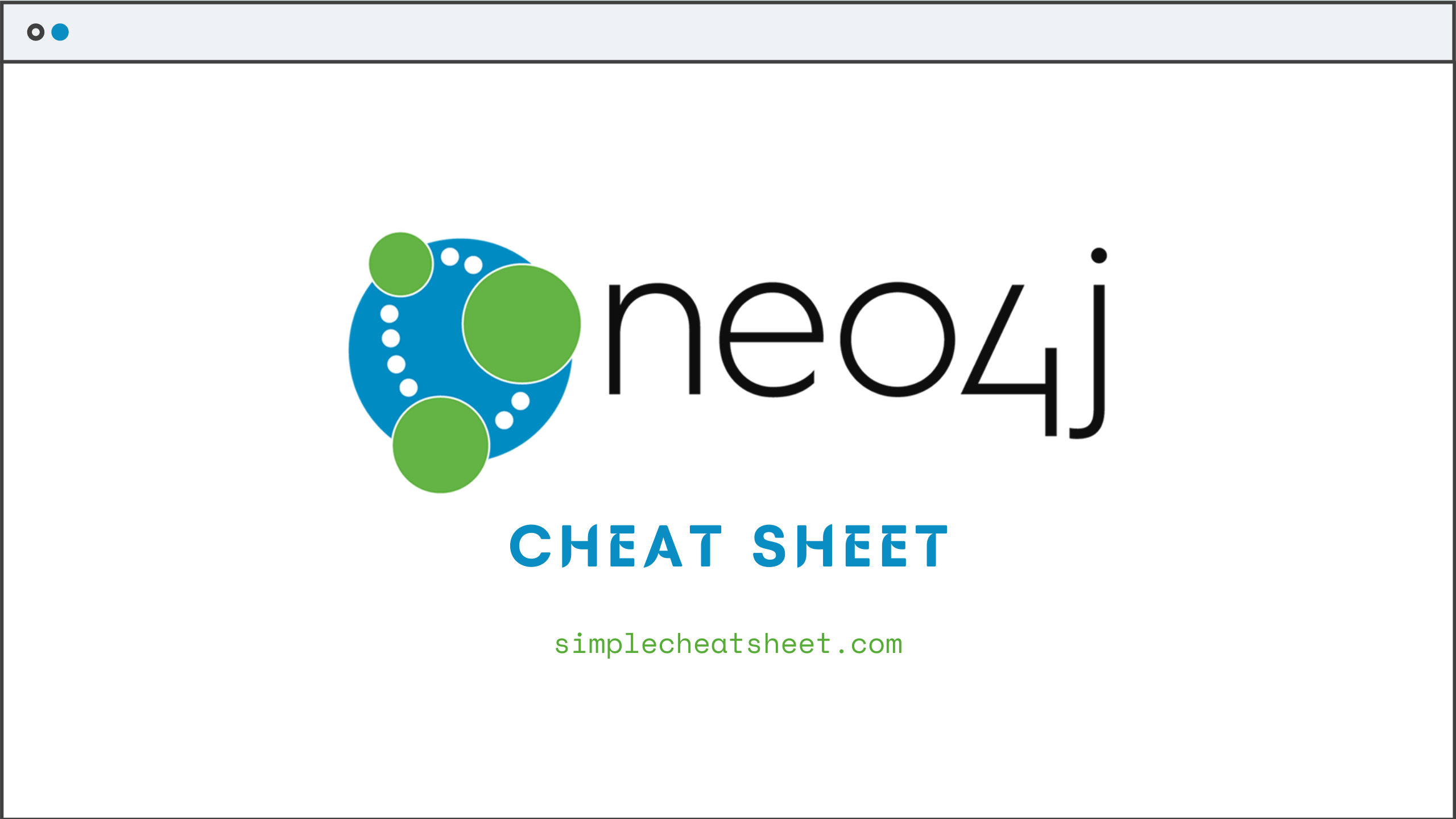 neo4j cheat sheet