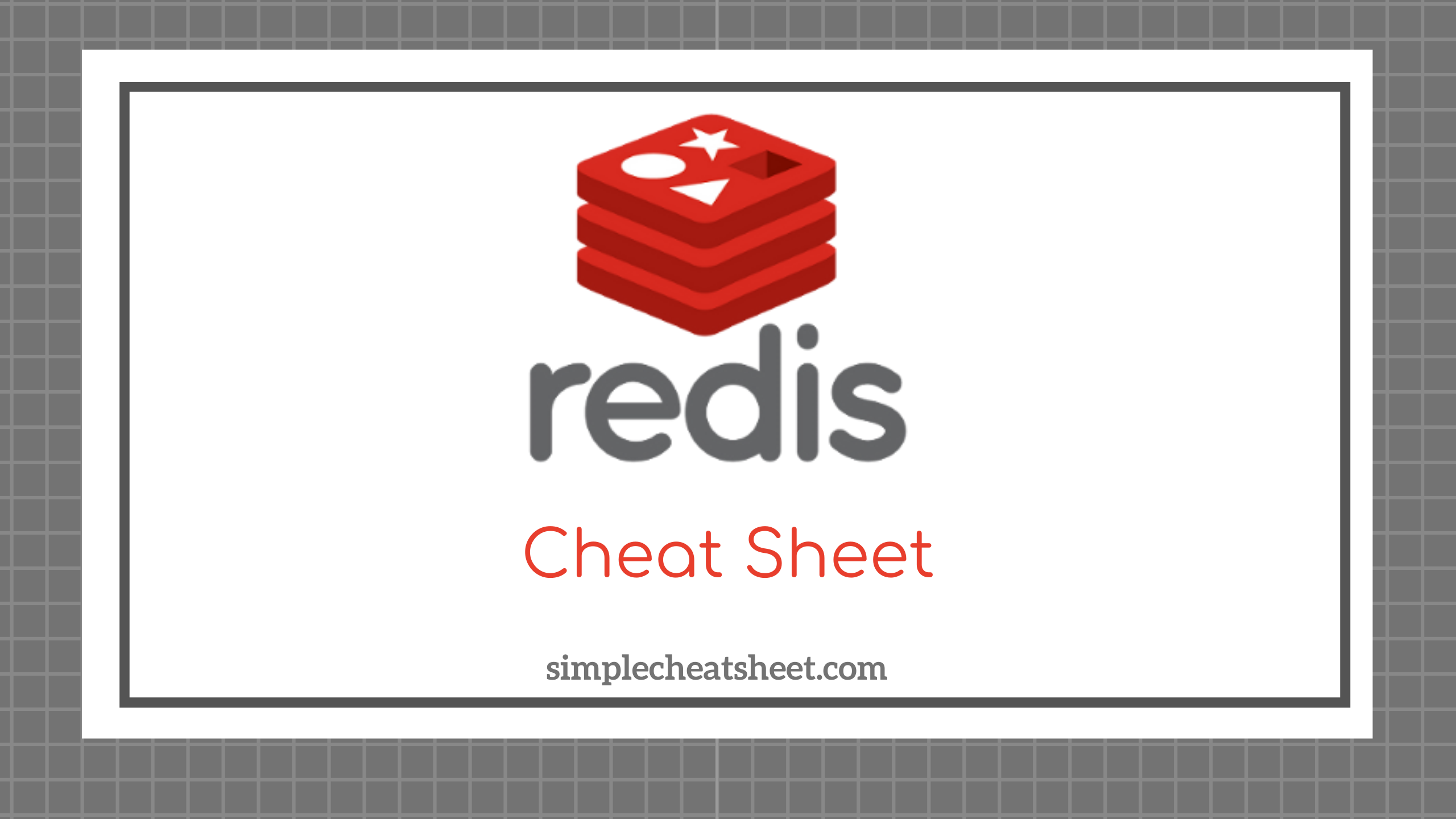 Redis Cheat Sheet